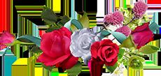 цветы букетик