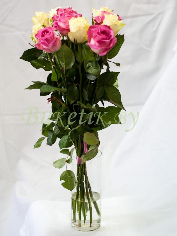 Микс из 11 роз