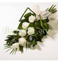 Траурный букет из роз