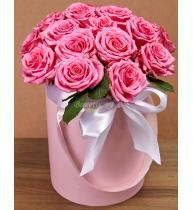 Коробка из роз \